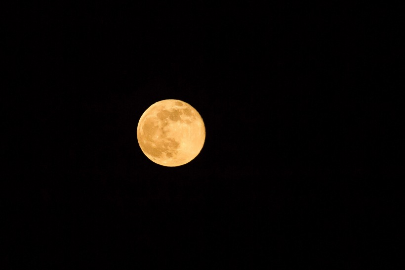 June Full Strawberry Moon. Tucson, Arizona