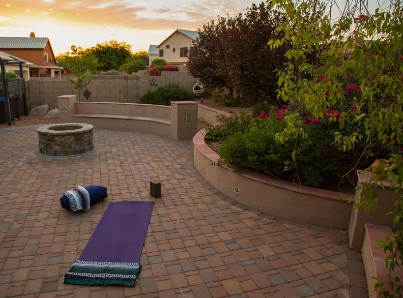 Sunrise Yoga in Tucson, Arizona